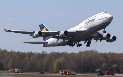 Vierde Lufthansa B-747 vertrokken