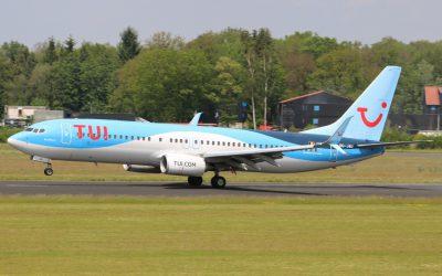 TUI 737 brengt nationaal voetbalteam van Georgië naar Twente Airport
