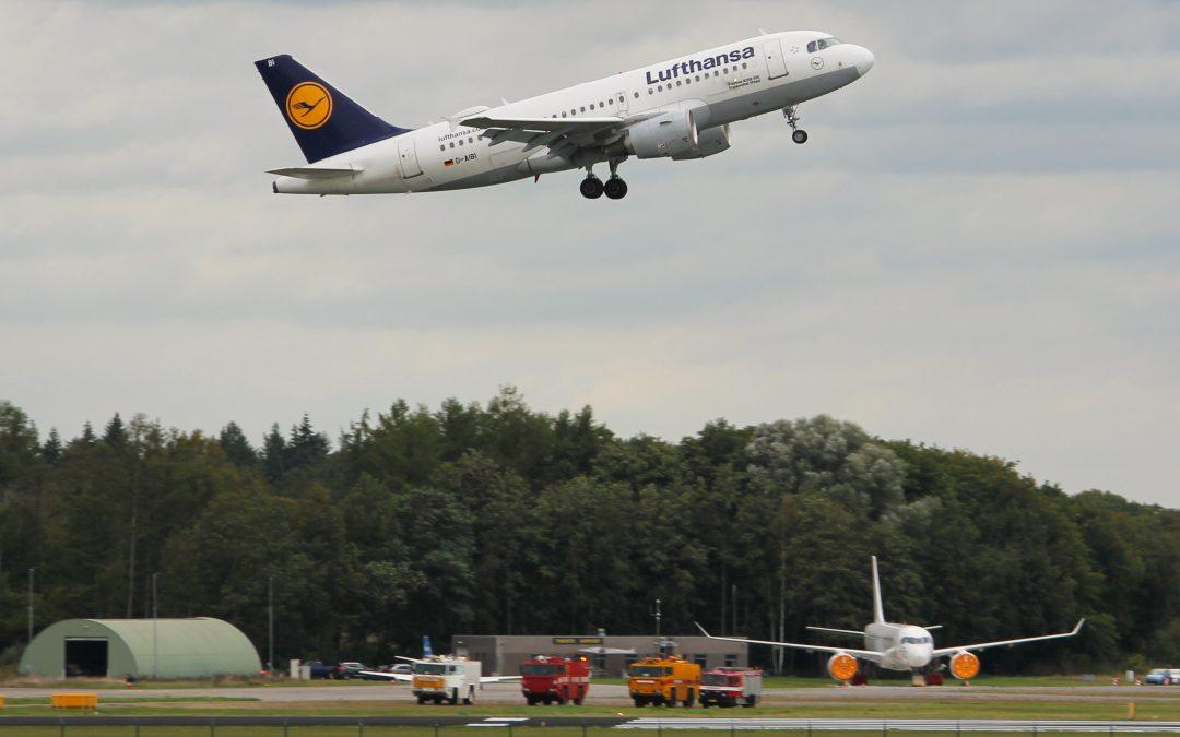 Naderingsvluchten op Twente Airport